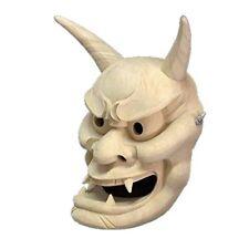 NEW Hannya Noh Mask The Hanya Shinda Ver Wooden Mask Hand made Fast Shipping