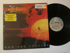 Air Supply Now And Forever Shrink Hype Sticker LP