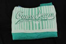 """Vintage Guess Jeans Beach Towel - 35"""" x 67"""" - Very Rare!"""