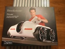 Brookstone Rover App-Controlled Spy Tank with Night Vision wifi
