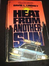 Heat from Another Sun by David Lindsey 1st Pocket Books Print Oct 1985 Paperback
