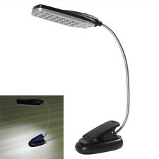 Pro Flexible USB / Battery Power 28 LED Light Clip-on Bed / Table / Desk Lamp