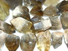 Citrine mine rough crystals Congo,Africa 1/8 pound lot 1/2-2 inch 1-3 crystals