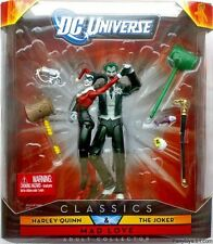 mattel MAD LOVE dc universe classics joker harley quinn batman dini super NEW