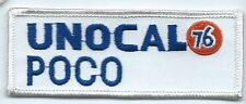 Unocal 76 Poco employee/driver patch 1-1/2 X 4-1/8