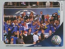 N°006 TEAM CHELSEA.FC WINNER 2012 CHAMPIONS LEAGUE 2013 STICKER PANINI