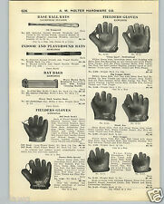 1926 PAPER AD Rawlings Baseball Glove Bill Doak Duster Mails