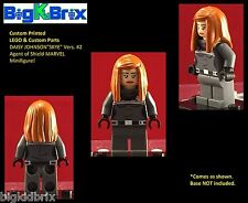 DAISY JOHNSON Shield Agent Marvel Custom Printed Lego & Custom Parts Minifigure