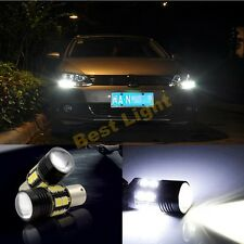 2x CANbus HID White CREE  LED Bulbs for Volkswagen MK6 Jetta Daytime DRL Lights