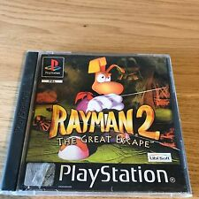 Rayman 2 The Great Escape PS1 PlayStation 1 Game PAL (No Manual) - FAST POST