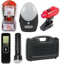 Basic Ghost Hunting Kit + Ghost Meter + EVP Recorder + Equipment Case + More