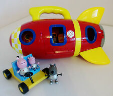 Peppa Pig Spaceship Rocket, Moon Buggy & 3 Space Figures