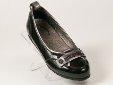 New Just Cavalli Black Patent Leather Shoes Size 35 US 5