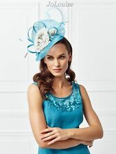 New Jacques Vert Fascinator ~ Blue & White ~ Wedding Special Occasion