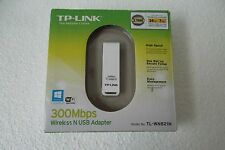 TP-Link Wireless N USB Network Adapter 300Mbps 802.11 g/n WPA2 2.4GHz TL-WN821N