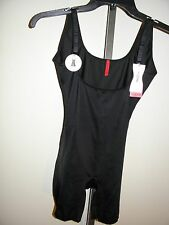 SPANX  SLIMPLICITY Open-Bust Mid Thigh Bodysuit  Size Small