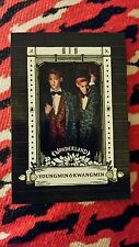 Boyfriend in wonderland youngmin & kwangmin official photocard kpop k-pop