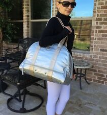 EUC Lululemon Om For All Yoga Gym Bag Silver/Gold