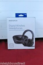 Insignia Digital Wireless Headphones for TV & Audio Devices NS-WHP314 in Black