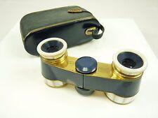 Nice Vintage Blue Mother of Pearl HENSOLDT WETZLAR Binoculars Opera Glasses