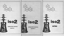 Thai Power Iso2 Isomerizer Owner / Operator Manuals 1 & 2 with Intro Booklet