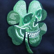 PIRATE SKULL CLOVER US ARMY MILITARY BADGE MULTICAM VELCRO® BRAND FASTENER PATCH