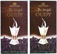 Oudy 35ml Oudh SandalwoodOriental Perfume Spray by Al Rehab(Pack of 2)