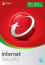 Trend Micro Internet Security 11 (2017) | 1 Year Licence | 1 PC/Mac/Smartphone