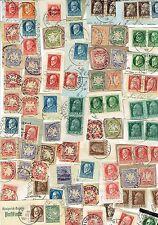 BAYERN-Lot, ab Wappen, aus uralter KILOWARE, alle Marken vom Scan + weitere