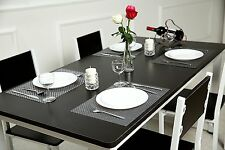 Luxury  Rectangular Pack of 6 Table Place mat/ Dining Table Mat...