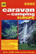CARAVAN AND CAMPING EUROPE (AA LIFESTYLE GUIDES), AUTOMOBILE ASSOCIATION, Used;