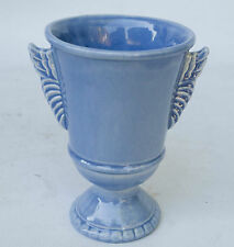 RARE MID-CENTURY RED WING ART NOUVEAU POTTERY VASE PERIWINKLE BLUE #1090