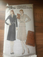 Family Circle vintage sewing pattern BLOUSE AND SKIRT size 12 COMPLETE