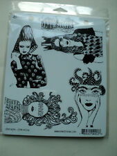 RANGER DYLUSIONS BY DYLAN REVEALEY CLING STAMPS STRENGTH NEW! *LOOK*