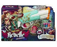 NERF Rebelle Charmed Dauntless with 3 darts and 2 charms