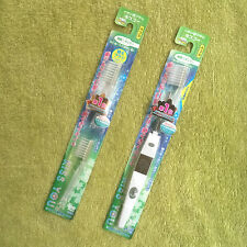 Japan Kiss You Ionic Electric Plaque Remover Toothbrush Orthodontic +2 brushhead