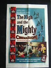 THE HIGH AND THE MIGHTY '54 JOHN WAYNE IN THE GRANDDADDY OF ALL DISASTER MOVIES