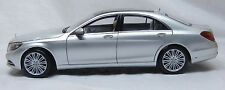 NOREV 2014 MERCEDES BENZ S CLASS (W222) SILVER 1:18 DEALER EDITION*Last Pcs Left