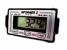 Digital MIN / MAX Backlit Car / Truck Thermometer Temp Meter - Informer 2 GLOW