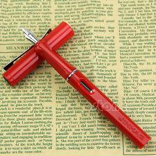 Professionnel Écriture Jinhao 599A Fontaine stylo Plastique tête & Baril rouge