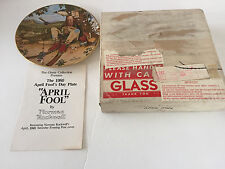 1980 April Fool Fool's Day Norman Rockwell Ghent Collection Collector Plate