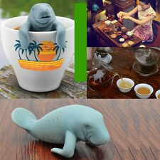 Fred & Friends MANATEA Manatee Tea Infuser Steeper Loose Herb Plants
