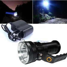2000LM Handheld CREE XM-L T6 Rechargeable LED Flashlight Torch Lamp + Charger TL