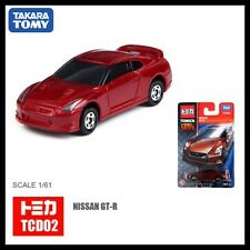TOMICA COOL DRIVE TCD02 NISSAN SKYLINE GT-R R35 1/61 RED TOMY GTR 35 94