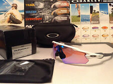 Oakley AF Radar EV Path Polished White w/ Prizm Golf lenses - New SKU# 9275-12
