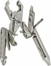 Swiss+Tech ST53100 Polished SS 19-in-1 Micro Pocket Multitool for Camping Out...