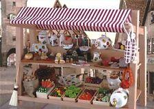 Market Stall ~ Stunning 1/12th Scale Miniature By Reutter Porzellan!!