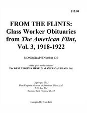 Glass Worker Obituaries from The American Flint, Vol. 3, 1918-1922 - genealogy