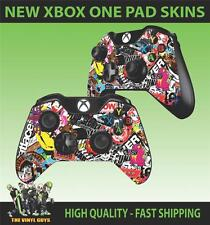 XBOX ONE CONTROLLER PAD STICKER STICKERBOMB GRAPHICS DECALS SKINS X2