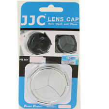 Hood Cap for  Panasonic G Vario 12-32mm auto lens cap With hood Silver H-FS12032